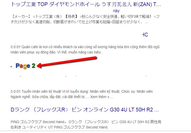 hiển thị link index tiếng nhật không qua trang